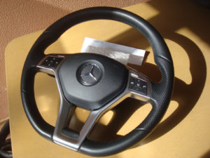 mercedes steering wheel upgrade